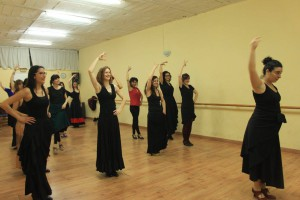 Catalana Rumba / Flamenco dance class in Barcelona