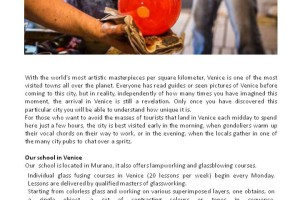 Learn Murano Glass Fusing in Venice!