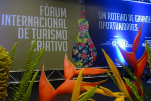 Impressive International Forum on Creative Tourism, Brazil