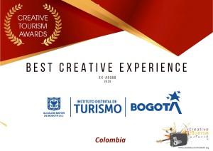 _BEST CREATIVE EXPERIENCE-BOGOTÁ