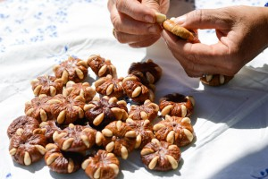 Figs with almonds workshop in Loulé