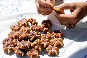 Atelier figues et amandes à Loulé