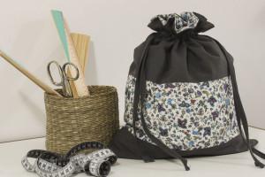 Sewed a Taleigo bag in Loulé