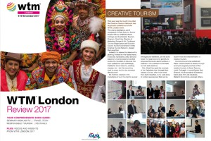 Creative Tourism at WTM Review