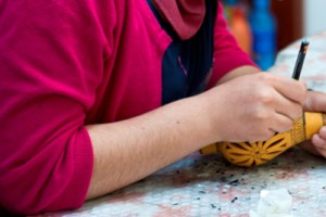 Ceramic workshop, Urla