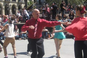 Catalan dances workshop