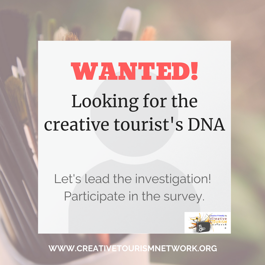 Are you a creative tourist?