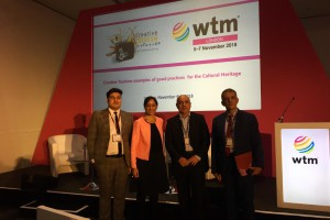 Successful session on creative tourism at WTM London