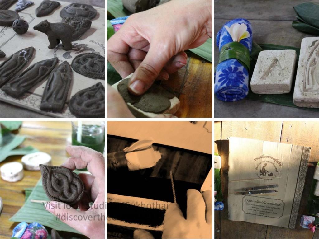 Amulet Making - Creative Activity Thailand