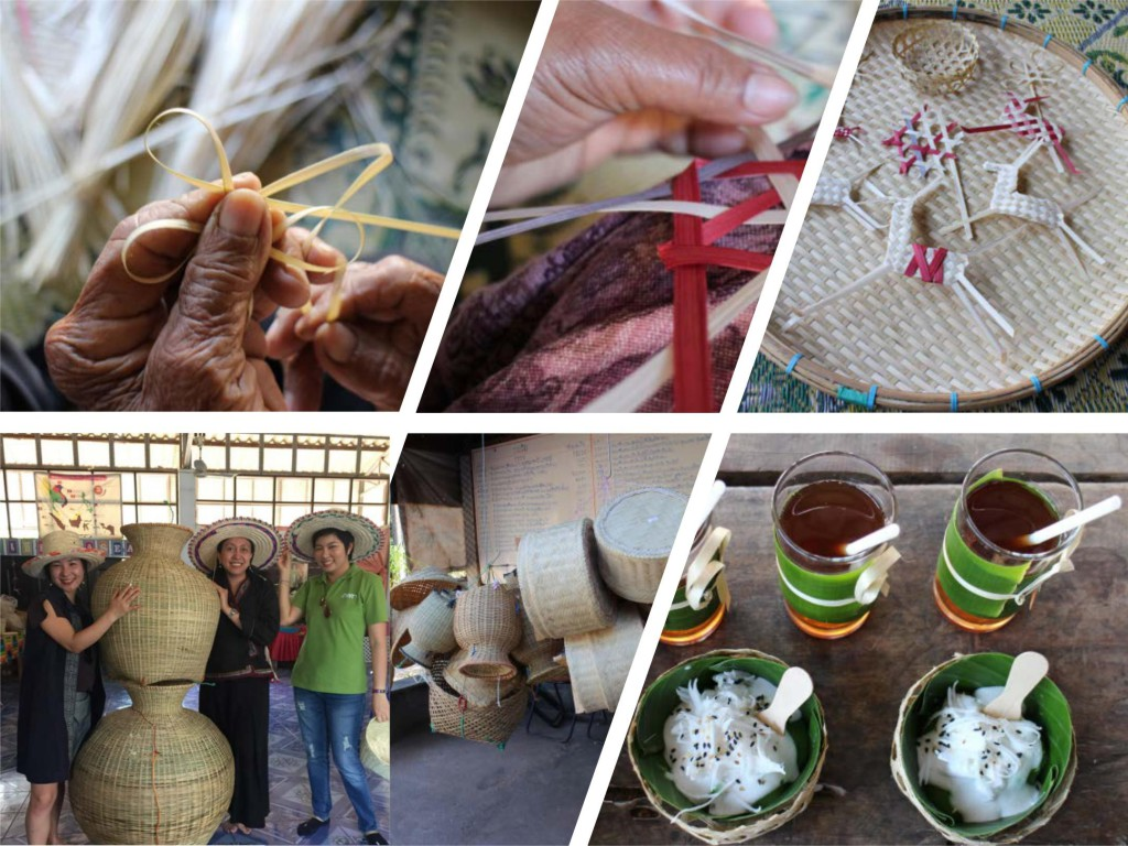 Bamboo Weaving in Thailand - Creative Tourism