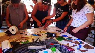 CREATIVE GLASS WORKSHOP in Gabrovo Bulgaria (Creative Tourism)