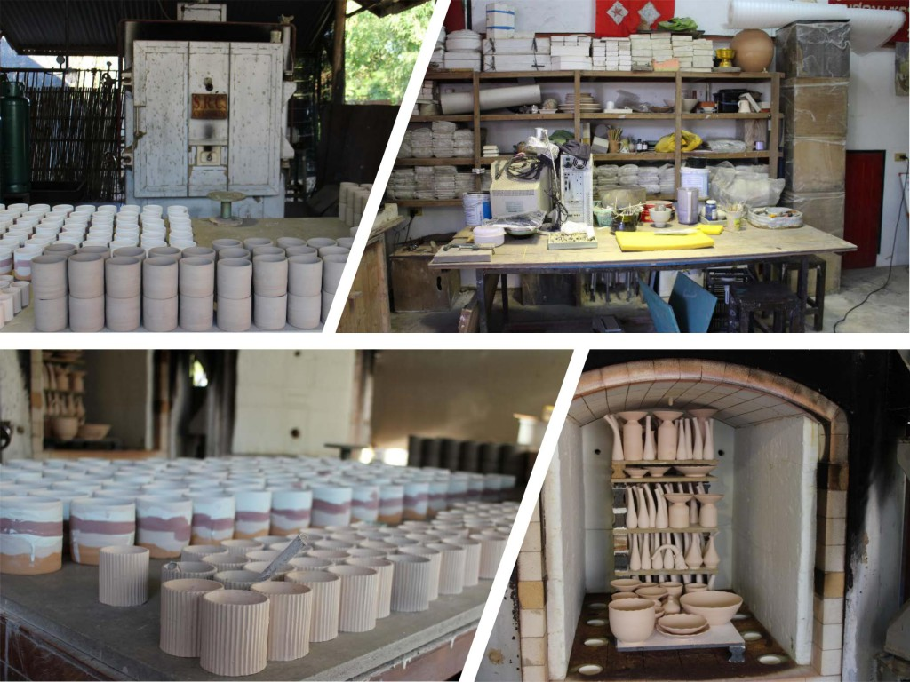 Ceramic classes in Thailand - Creative activities