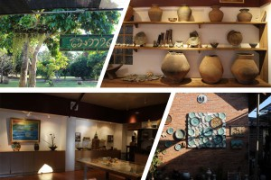 Ceramic workshop in Thailand