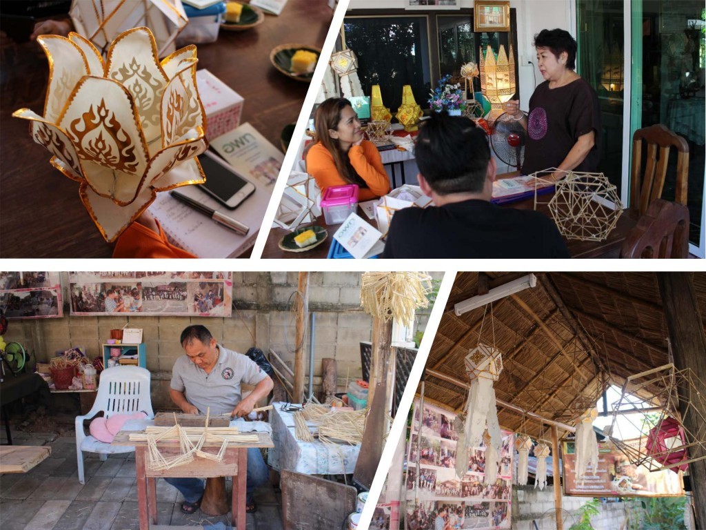 Lantern Making in Thailand