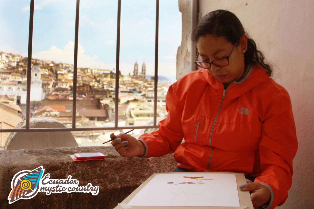 PAINTING ON HIGH IN QUITO Creative Tourism