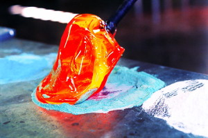 Blow your own glass piece in Biot (French Riviera)