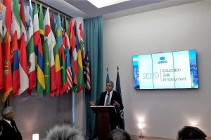 UNWTO:  2019 Year of Education-Skills and Employment