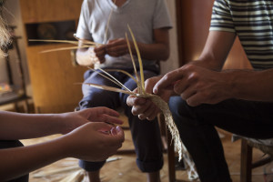 1 – Palm Weaving Workshop