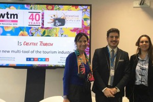Creative Tourism convinces the WTM