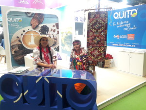 QUITO stand at FITUR2020