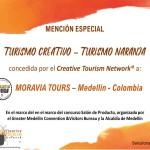 Certificado_TURISMOCREATIVO_MoraviaTours