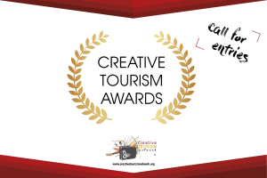 Extended Deadline and updates: Creative Tourism Awards 2020