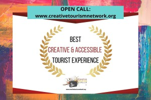 "Open call: AWARDS ""Best Creative & Accessible Tourist Experience"""