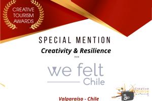 Chile: reconocimiento mundial en Creatividad y Resiliencia