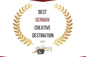THE BEST GERMAN CREATIVE DESTINATION IS…