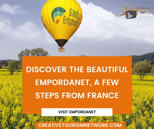 Discover the beautiful EMPORDANET, A FEW STEPS FROM FRANCE